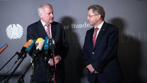Horst Seehofer und Hans-Georg Maaßen