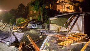 """Schäden durch Sturmtief """"Fabienne"""""""