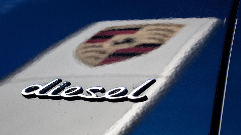 Ein Porsche mit dem Schriftzug Diesel