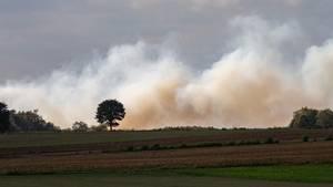 Moorbrand in Meppen