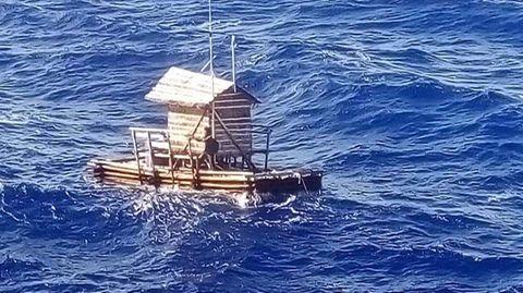 Westpazifik: In Fischerhütte abgetrieben: Teenager nach 49 Tagen aus Seenot gerettet