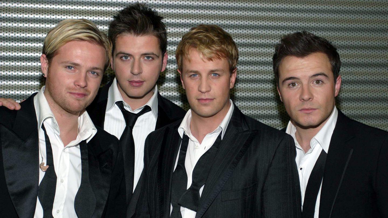 Die Boyband-Westlife im Jahr 2004
