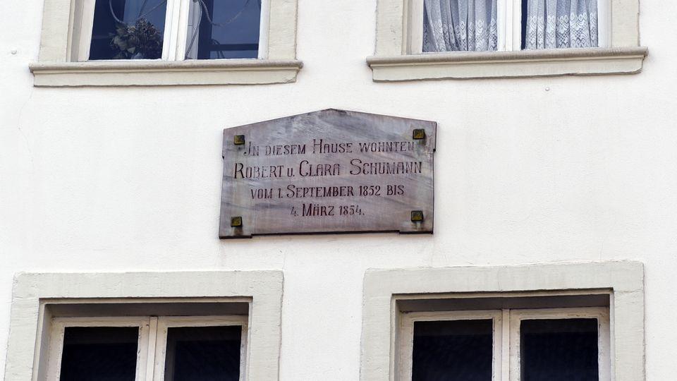 Ehemaliges Wohnhaus von Clara und Robert Schumann in Düsseldorf
