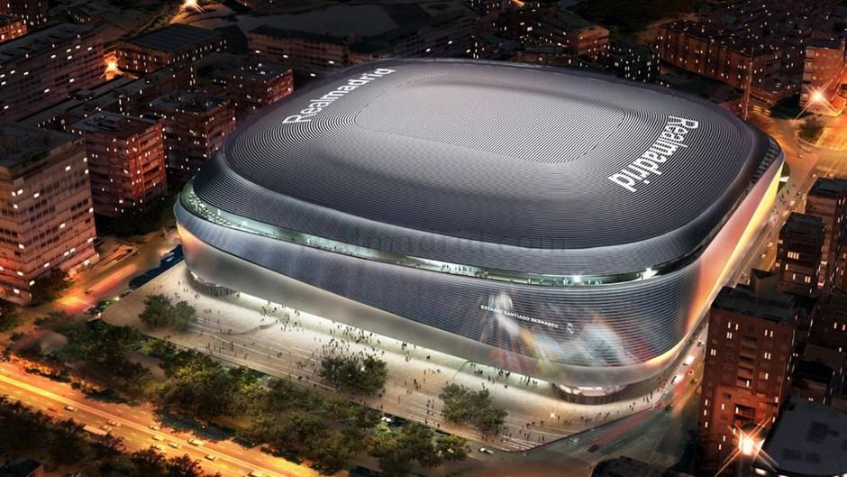 """Stadion der """"Königlichen"""": Real Madrid baut um: So galaktisch wird das neue """"Santiago Bernabéu"""""""
