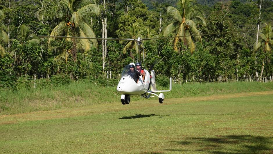 Per Gyrocopter: Faszinierende Natur von oben - ein Rundflug über den Regenwald Costa Ricas