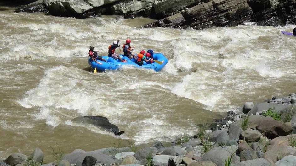 Costa Rica: Alles im Fluss:Rafting auf dem Pacuare River