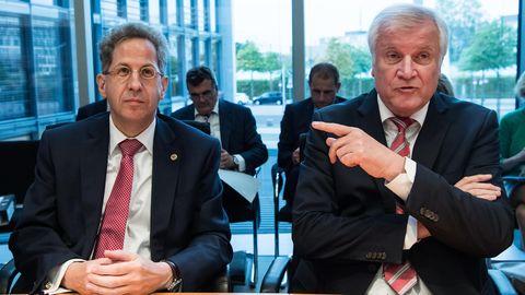 Fall Maaßen: Hans-Georg Maaßen und Horst Seehofer