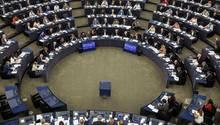 Das Europa-Parlament in Straßburg: Sollten Parlamentarier ihre Spesenabrechnungen offen legen müssen? Darum tobt ein Streit.