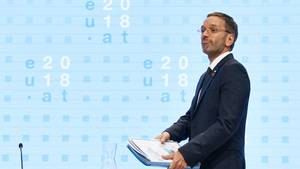 Österreichs Innenminister Herbert Kickl