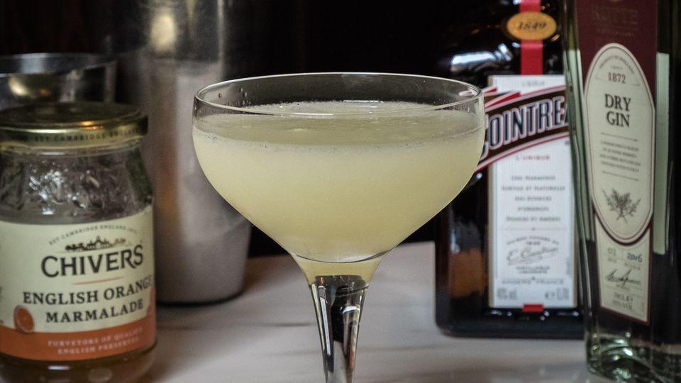 Der Breakfast Martini - nur echt mit English Orange Marmelade