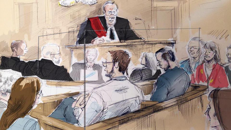 Dellen Millard steht vor Gericht.