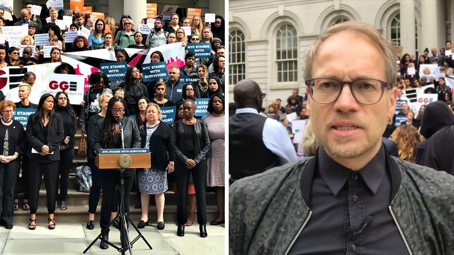 #WhyIDidntReport: stern-Reporter in New York: Der bewegende Protest von Gewaltopfern gegen Kavanaugh und Trump
