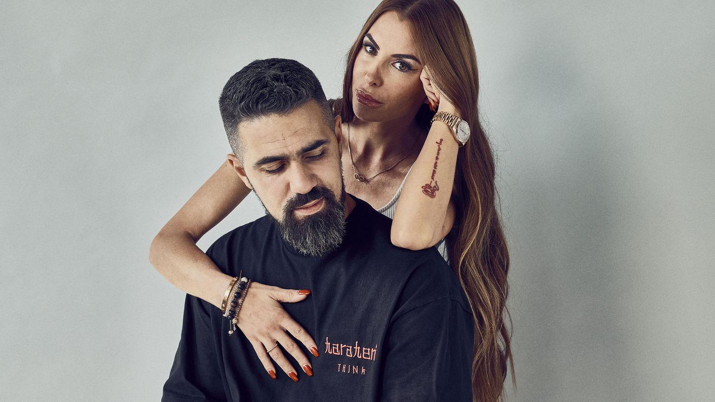 Bushido - mit bürgerlichem Namen Anis Mohamed Ferchichi -und seine Ehefrau Anna-Maria Lewe