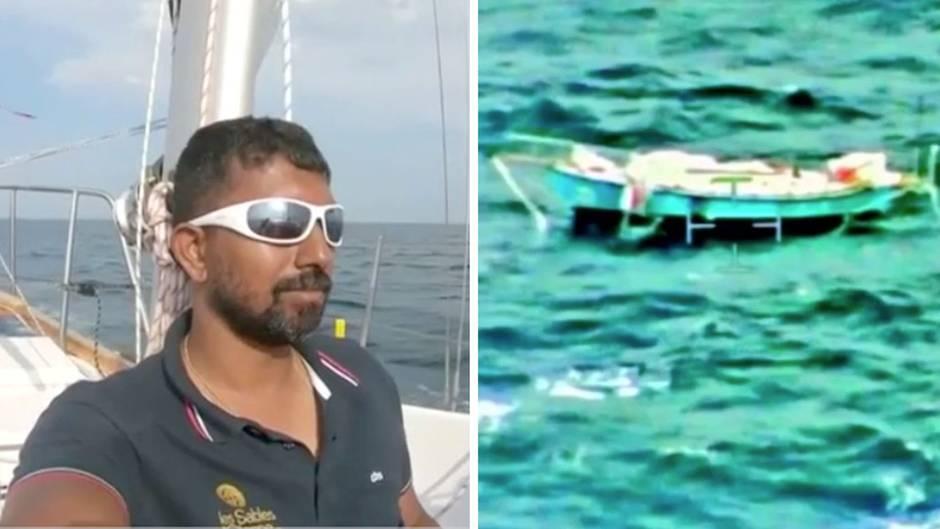 2000 Seemeilen vor Australien: Segler liegt bewegungsunfähig unter Deck und setzt Notruf ab - dann beginnt eine verzweifelte Suche
