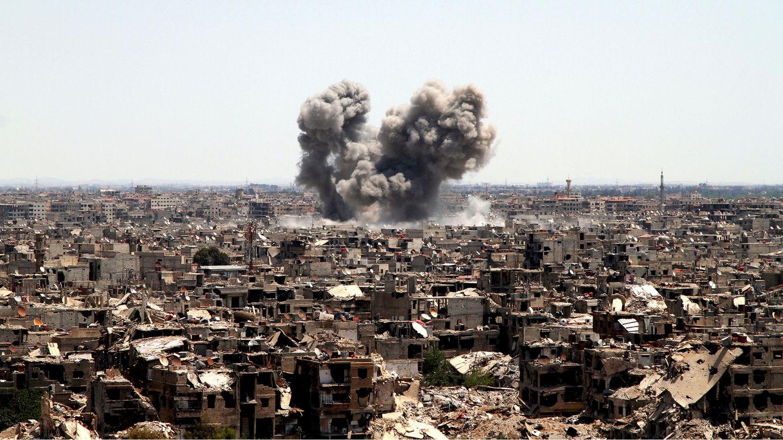 Weite Teile Syriens sind durch den jahrelangen Bürgerkrieg zerstört worden