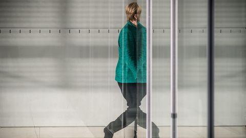 Bundeskanzlerin Angela Merkel gerät zunehmend unter Druck