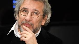 """Der türkische Journalist Can Dündar, Ex-Chefredakteur der regierungskritischen Zeitung """"Cumhuriyet"""""""