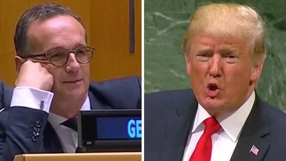 UN-Vollversammlung: Trump kritisiert Deutschland für Nord Stream 2 – Heiko Maas reagiert mit Kopfschütteln