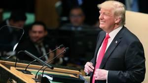 Trump wird bei der UN-Vollversammlung ausgelacht