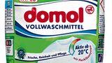 Platz 5  Rossmann  Domol   Vollwaschmittel   Note Gut (2,2)  Preis pro Wäsche : 13 Cent  Besonderheiten: -