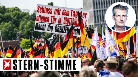 Eine Demonstration der AfD in diesem Frühling in Berlin. Unser Autor sieht den Nationalismus in Europa als einen Weg, der letztendlich in die Unfreiheit der Bürger führt.
