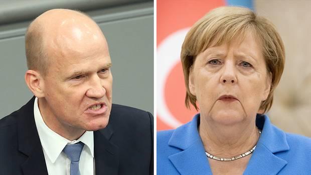 Ralph Brinkhaus und Merkel müssen in Zukunft konstruktiv zusammenarbeiten, sonst war es das mit der Bundeskanzlerin