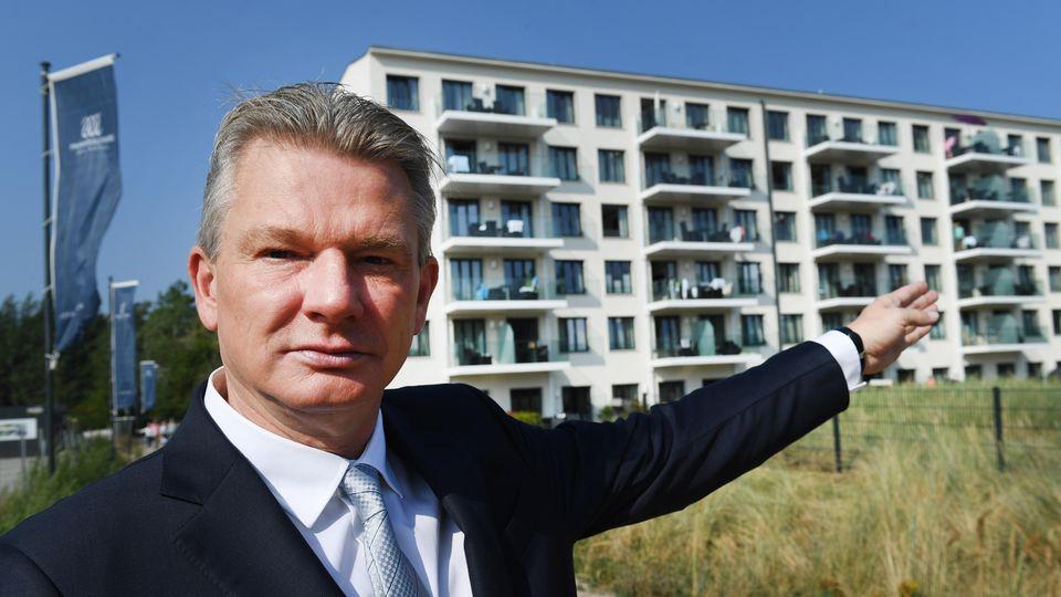 Sein Vater sang linke Lieder, er setzt auf das Geschäft mit Immobilien: Ulrich Busch, der Sohn des Arbeiter-Sängers Ernst Busch