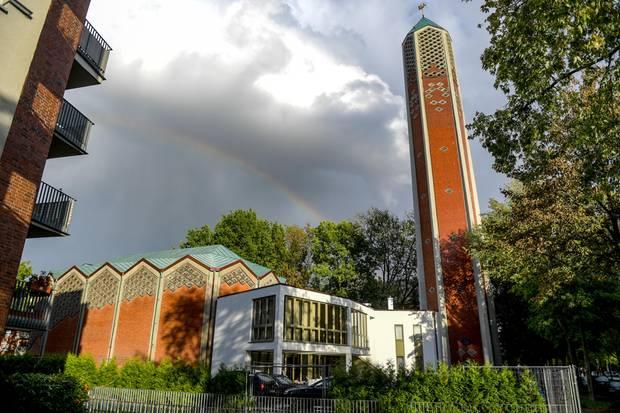 Die Kapernaumkirche in Hamburg-Horn, neue Heimat der Al-Nour-Moschee