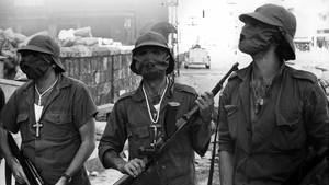 1976 überrannten muslimische Kämpfer Damur und massakrierten alle Christen, die nicht schon geflohen waren