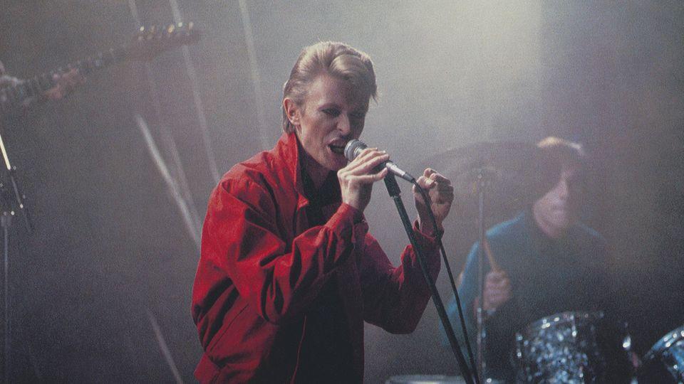 """David Bowie im Film """"Wir Kinder vom Bahnhof Zoo"""""""