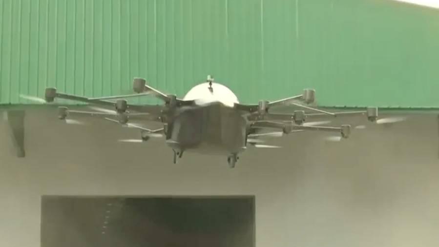 """Antrieb mit sechs Lithiumionenbatterien: Wird dieser """"fliegende Sportwagen"""" das Gefährt der Zukunft?"""