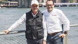 Paolo Pininfarina mit Michael Perschke Automobili Pininfarina CEO