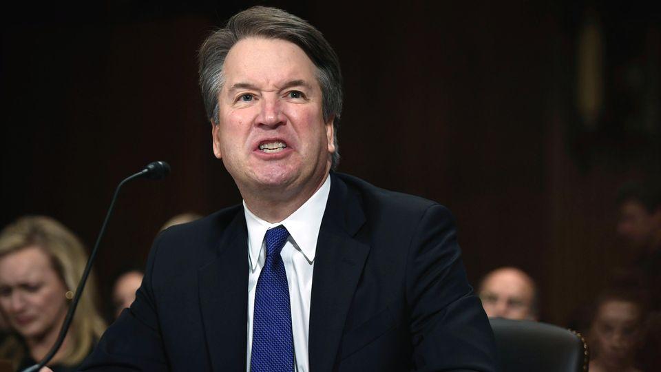 Brett Kavanaugh, Wunschkandidat von US-Präsident Donald Trump für den Supreme Court,bei seiner Anhörung