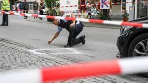 In Ravensburg ermittelt die Polizei nach einer Messerattacke, bei der drei menschen schwer verletzt wurden