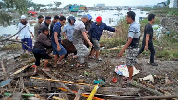 Die Rettungskräfte rechnen damit, dass die Zahl der Toten noch steigen wird