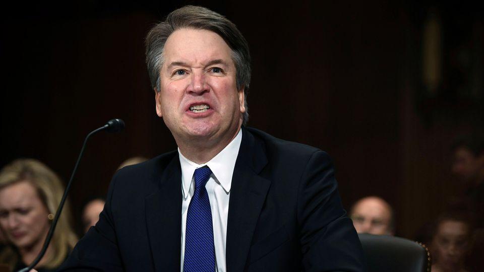 Brett Kavanaugh, Supreme-Court-Kandidat von US-Präsident Donald Trump