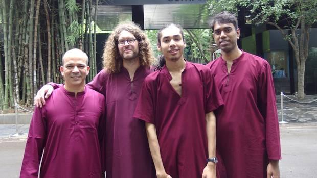 Bhagwan-Aschram in Indien