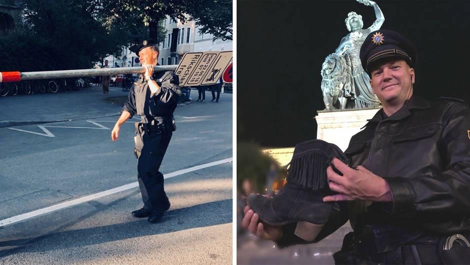 """#Wiesnwache: """"Zwei Italiener haben das mit der Wiesn falsch verstanden und hatten Gras dabei"""" - die lustigsten Tweets der Polizei München"""