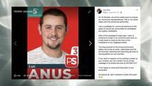 """Belgien: Der Nachname dieses Politiker ist Facebook zu """"unangebracht"""""""
