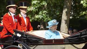 Queen Elizabeth II. und Ollie Roberts