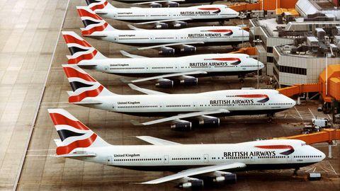 Der heute weltweit größte Betreiber einer 747-Passagierflotte ist British Airwaysmit 36 Jumbojets