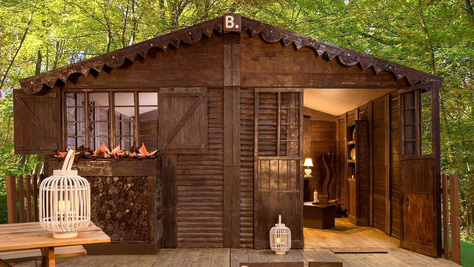 Ferienhütte aus Schokolade in Frankreich