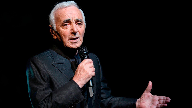 Charles Aznavour: Mit einem Auftritt im Pariser L'Olympia im Jahr 1956 gelang ihm der Durchbruch