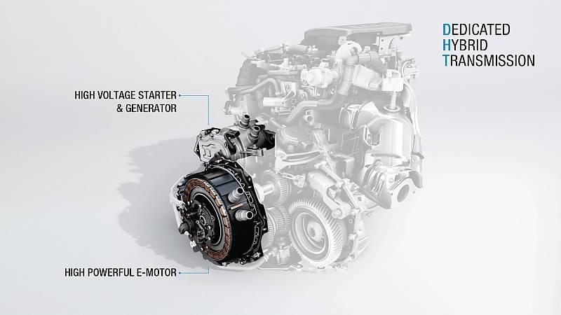 Zu Renaults E-Tech-Paket gehören ein starker Elektromotor und ein Hochvolt-Starter-Generator