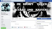 """Die Facebookseite """"Revolution Chemnitz ANW"""" gibt es seit Oktober 2013"""