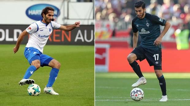 Hamit Altintop und Nuri Sahin spielten ein Jahr gemeinsam bei Real Madrid