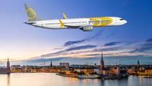 Sollte ab Sommer 2019 von Berlin und Frankfurt zu Zielen in den USA fliegen: eine Boeing von Primera. Die Billigfluggesellschaft ist eine von fünf Airlines, die im Sptember Insolvenz anmelden musste.