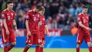 FC Bayern enttäuscht nach drittem Spiel in Folge ohne Sieg