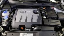 Die Umrüstung der Dieselmotoren ist aufwendig