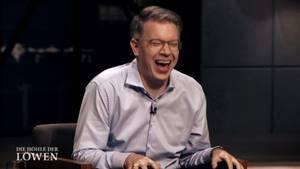 Hatte gut lachen: DHDL-Juror Frank Thelen